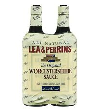 🔥 Lea & Perrins Worcestershire Sauce-20 oz, 2 ct 🔥