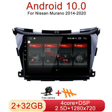 32GB Android 10.0 Car DVD Radio Stereo GPS Navi Player For Nissan Murano 14-20(Fits: Nissan)