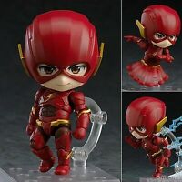 Anime Nendoroid The Flash #917 Flash Justice League Edition Action Figure Toy NB