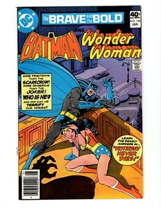 THE BRAVE AND THE BOLD #158 (VG+) 1980 BATMAN AND WONDER WOMAN