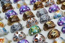 FREE Wholesale lots Mix 20pcs color Mixed Resin Lucite children Rings #R61