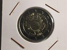 2 EURO FINLANDE 2012 10 ANS DE L'EURO FIDUCIAIRE COMMEMORATIVE NEUVE TYE