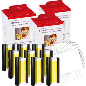 Patronen FotoPapier Kompatibel für Canon KP-108IN Selphy CP1300 CP 1200 1000 910