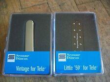 Seymour Duncan ST59-1B Little 59 Telecaster Bridge Humbucker STR-1N Neck Pickup