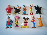 DISNEY MICKEY MOUSE & FRIENDS 1 FIGURINES SET ZAINI - FIGURES COLLECTIBLES