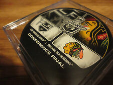 Chicago Blackhawks Conference Final Puck Autographed By Scotty Bowman