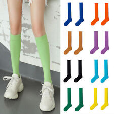 Women Soft Winter Cable Long Knit Socks Over Knee Thigh Highs School Stockings