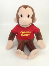 """Curious George 14"""" Monkey with Red Shirt Plush Stuffed Animal Toy Applause"""