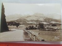 Vintage Real Photo EKC  Sanborn Postcard Highway 50 Coaldale Valley Colorado