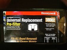 Two Genuine Honeywell 38002 universal replacement pre-filter air cleaner - New
