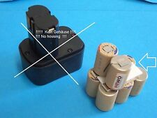 Klauke RAM2 UPONOR 9,6 V 2.0Ah NiMH Ersatzakku Zellpack Akku Accu Batterie löten