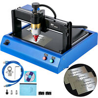 Electric Marking Engraving Machine 300x200mm Router Metal For DogTag Steel PCB