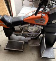 Motor Harley Davidson From Old Arcade Machine