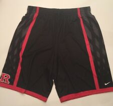 Nike Rutgers Basketball Team Issued Practice Shorts 3XLT Scarlet Knights