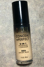 MILANI CONCEAL + PERFECT 2 IN 1 FOUNDATION + CONCEALER 05A NATURAL BEIGE