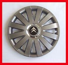 """4x15"""" Wheel trims for CITROEN  BERLINGO C2 C3 C4 C5 XANTIA NEMO  - graphite"""