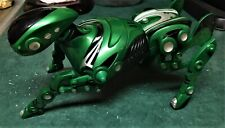 Wow Wee Robopet - Green Robot Dog - Great Condition - 2005 - No Remote