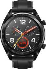 HUAWEI WATCH GT SMART BLACK STEEL SPORTS FITNESS SLEEP HEART GPS ANDROID iOS