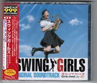 Sealed Promo SWING GIRLS Movie Soundtrack JAPAN CD UPCY-9356 w/OBI cracks FreeSH