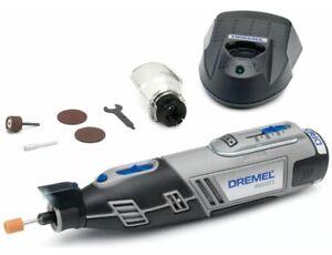 Dremel 8220-1/5 12v Cordless Rotary Multi Tool LED 5 X Accessories F0138220JB