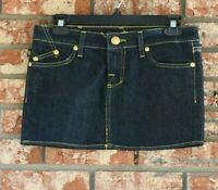 Rock & Republic Blue Denim Mini Skirt