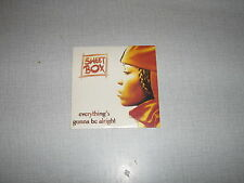 SWEET BOX CD SINGLE EU EVERYTHING'S GONNA BE ALRIGHT