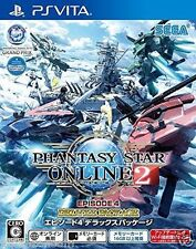 Used PS Vita PHANTASY STAR ONLINE 2 EP4 DELUX SONY PLAYSTATION JAPANESE IMPORT