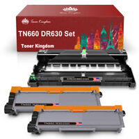 3PK 1 DR630 Drum + 2 TN660 Toner For Brother DR660 HL-L2300D L2380DW MFC-2740DW