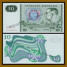 Sweden 10 Kronor, 1968 P-52b Unc