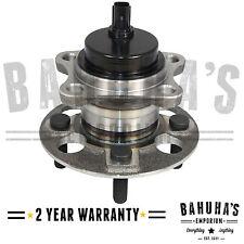 Toyota Yaris 2005-2015 Rear Axle Hub Wheel Bearing Includes ABS Sensor