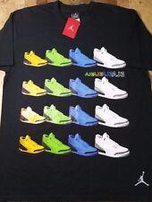 Rare Nike Air Jordan III Retro LS Shirt XL 3 Vintage DTRT Cement OG Elephant 88
