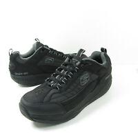 Skechers Mens Shape Ups XT Shoes Black 52000 Walking Lace Up Low Top Sneakers 11