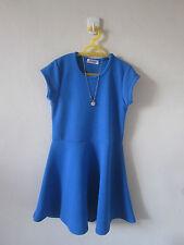 RDS NEW BLUE DRESS  GIRLS 4T - 5T