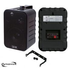 1 Paar Dynavox 3 Wege Boxen, Halterung schwarz,120-W Lautsprecher Wand,Decke(331
