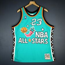b89ac0896bf8 100 Authentic Michael Jordan Mitchell Ness 1996 All Star Game Jersey Size XL