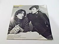 John Lennon Woman / Yoko Ono Beautiful Boys 45 1980 Picture Sleeve Vinyl Record