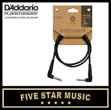 D'ADDARIO PLANET WAVES CLASSIC GUITAR CABLE 3' FIVE FOOT PATCH LEAD NEW CGTPRA