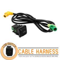 1M USB Schalter Kabelbäume für VW GOLF JETTA SCIROCCO RCD510 RNS315 MK5 MK6