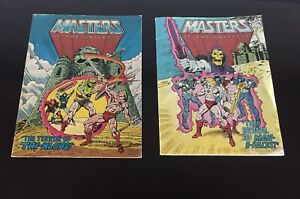 Masters of the universe comic books 1982