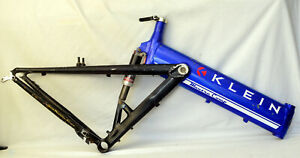 "Vintage Klein Mantra Mountain Bike 19.5"" w Fox Full Suspension USA MADE 26"" MTB"