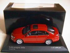 VW VOLKSWAGEN JETTA TORNADO RED 2010 MINICHAMPS 400059001 1/43 ROUGE ROSSO ROT