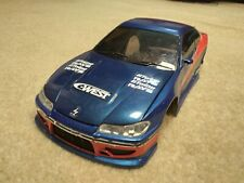 Nikko Fast and Furious Nissan Silvia S-15 RC Car shell (1/16 Scale)