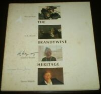 SIGNED BY ANDREW WYETH & JAMIE WYETH, THE BRANDYWINE HERITAGE, ART, CHADDS FORD