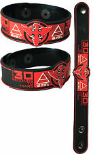30 SECONDS TO MARS  NEW! Bracelet Wristband aa153 Red/Up In The Air
