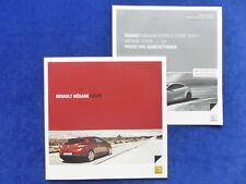 Renault Megane Coupe RS Night & Day - Prospekt + Preisliste Brochure 05.2010