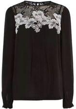 Karen Millen Lace Top Size 16 New Black White RRP £125.00