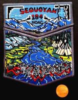 MERGED OA SEQUOYAH LODGE & COUNCIL 184 TENNESSEE BSA FLAP 2006 NOAC 2-PATCH COOL