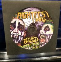 Twiztid - Impending Evil Fright Fest 2013 CD Single insane clown posse boondox