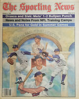 Sporting News Aug 6 1984 - Hall of Fame Inductees - Pee Wee Reese - Rick Ferrell
