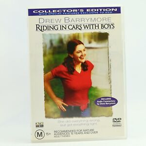 Riding In Cars With Boys Drew Barrymore DVD R4 GC Free Tracked Post